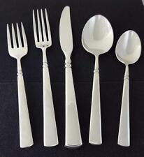 Oneida Stainless EASTON 5 piece place setting in A+ showroom inventory condition