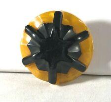 Vintage Authentic Bakelite Button c 1922-1940 Unique Excellent Condition