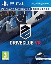 PS4 DriveClub VR Nuevo Precintado Pal España
