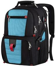 Extra Large Travel Backpack Durable 17 inch Laptop Bag with USB Charging Port