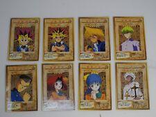 Yugioh Yu-Gi-Oh Card BANDAI CARDDAS #1- #8 Cards  Set 1998 1999