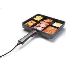 Goodmans 5 IN 1 MULTI Fry Pan ANTIADERENTE multisezione Padella Electrical Cord