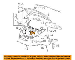 VW VOLKSWAGEN OEM 05-09 Jetta Hood-Lock Latch 1K1823509E