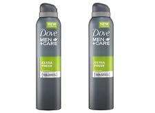 Dove Men+Care Antiperspirant Deodorant Extra Fresh 150ml x 2 (Pack of 2)