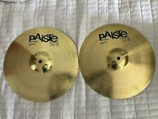 More details for paiste 101 hi hat cymbals 12