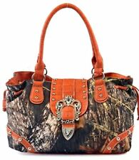 Concelead  Carry Camo Purse/Handbag Orange Trim