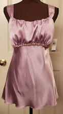 iz Byer California Lavender with Gold Embellishing Size XL Juniors Cami