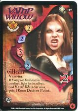 Buffy TVS CCG Limited Class Of 99 Rare Card #140 Vamp Willow