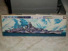 Aoshima 1/700 Scale German Battleship Tirpitz