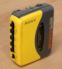 SONY WM-SX34 SPORTS PERSONAL CASSETTE PLAYER Stereo Walkman 1993