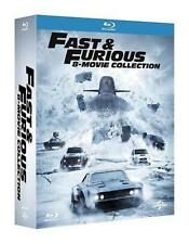 Blu Ray Fast And Furious - 8 Movie Collection (8 Blu-Ray) ....NUOVO