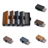 RFID RFID protection fashion  PU leather  Credit Card Holder Leather wallet