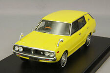 1/43 Hi-Story Nissan Skyline 1800 wagon sporty GL 1972 Yellow HS151YE