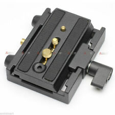 Rapid Quick Release Plate Connector Mount fr Manfrotto 501PL Camera Dolly Slider