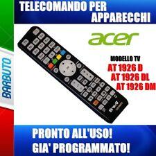 TELECOMANDO SPECIFICO COMPATIBILE ACER TV TELEVISORE AT1926 - AT1926DL- AT1926DM