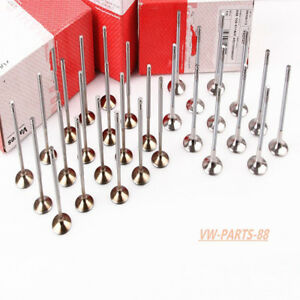 Intake&Exhaust Valves Kit For Audi A4 A6 A8 VW Passat 2.8L 3.0L 450000087WT