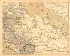 DUTCH EAST INDIES.Indonesia.SUMATRA. Malacca Strait. Riau.DORNSEIFFEN 1892 map