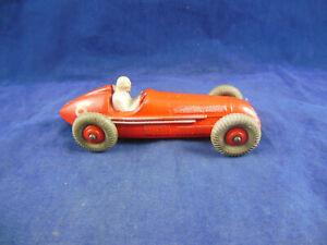 Dinky Toys 23F Alfa Romeo Car in Red Made In England Meccano ltd