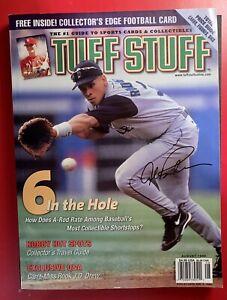 Tuff Stuff Magazine August 1999 Alex Rodriguez