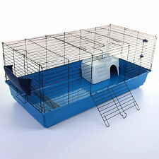 Large Rabbit Cage 120cm Guinea Pig Hutch Indoor Pet Small House Home Bunny Pen2