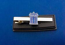 Dr Who Tardis TARDIS Police Box Tie Clip