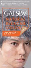 Mandom (Japan) GATSBY Natural Bleach & Color Hair Color - Aqua Silver
