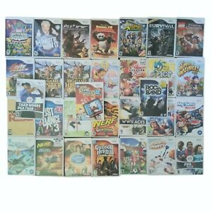 Nintendo Wii Video Games Huge Selection Cleaned Tested Work Buy More Save 20%