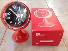 JERGER German vintage retro space mechanical desktop Alarm Clock from the 1960's