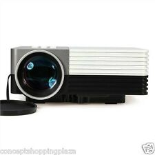 New GM50 Home Cinema Theater Multimedia LED LCD Projector HD PC AV VGA USB HDMI