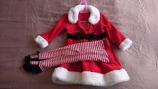 Girls Santa Dress 12-18 Mnth Mothercare