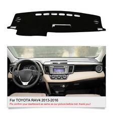 Car Auto DashMat Fit For Toyota RAV4 2013-2016 Dashboard Cover Sun Pad Mat Fly5D