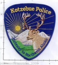 Alaska - Kotzebue Police Dept Patch v3
