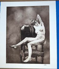 "Pamela Wilson ""Slave to Her Sacred Self"" Etching Modern Art AP Edition"