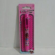 LOL Surprise! 6-Color Retractable Ballpoint Pen School Supplies
