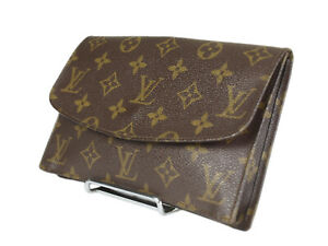 LOUIS VUITTON Rabat 20 Monogram Canvas Cosmetic Pouch Bag LP5016