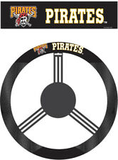 Pittsburgh Pirates Steering Wheel Cover MLB Baseball Team Logo Poly Mesh