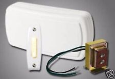 Nutone Builder 2 Note Wired DoorBell Chime Kit Bk115Lwh