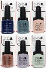 CND Gel Polish .25oz - All 6 shades from GLACIAL ILLUSION Shellac - 91683-88