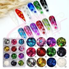 Nail Glitter Sequins Holographic Laser Flakes Nail Art 3D Decoration - Fast Usa