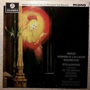 Mahler Sinfonie Nr. 2 Klemperer 2 LPs Vinyl ist gewaschen