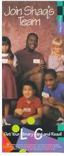 "1994 Shaquille ""Shaq"" O'Neil Library Bookmark Orlando Magic NBA"