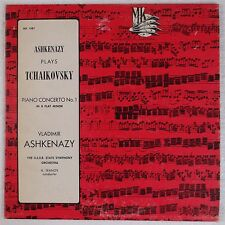 ASHKENAZY: Plays Tchaikovsky MK Russia PIANO CONCERTO No. 1 USSR Orchestra LP