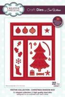 Creative Expressions Sue Wilson Die Christmas Shadow Box CED3071 - Free UK p&p