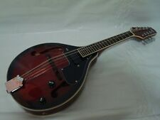 Free Gig Bag A-Style Acoustic Electric Mandolin, Redburst