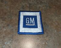 GENERAL MOTORS Blue Patch Vintage GM Cars Buick Cadillac Chevrolet Detroit NOS
