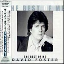 DAVID FOSTER-The Best of me           JAPAN-IMPORT CD!!