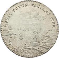 O3706 Jeton Louis XV Chambre commerce Picardie 1761 Argent Silver SPL !!