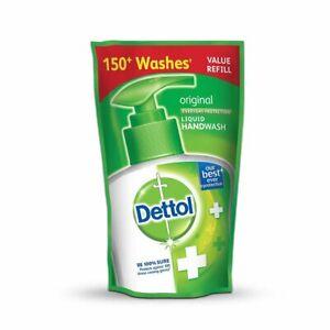 Dettol Liquid Handwash Refill Pouch Original Free Shipping Worldwide 185 Ml