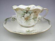 Antique RS Prussia Porcelain Tea Cup and Saucer