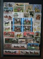 Pferde Reiter Horse Horses Caballos Briefmarken Sellos Stamps Timbres